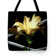Lily Of The Field Tote Bag