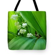 Lily Of The Valley Tote Bag by Jeremy Hayden