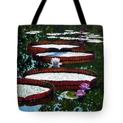 Lily Pad Highlights Tote Bag