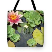 Lily Pad Lunch Tote Bag