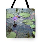 Lily Pads And Koi 1 Tote Bag