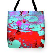 Lily Pads And Koi 7 Tote Bag