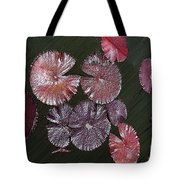 Lily Pads In The Pond Tote Bag