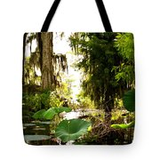 Lily Pads Tote Bag