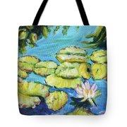 Lily Pads Mo Botanical Garden I Tote Bag