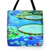 Lily Pond 2 Tote Bag