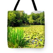 Lily Pond #4 Tote Bag