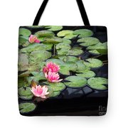 Lily Pond Monet Tote Bag