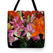 Lily Radiance Tote Bag