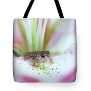 Lily Toad Tote Bag