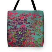 Lilypad 13 9 Tote Bag