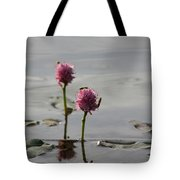 Lilypads And Wasps Tote Bag