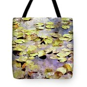 Lilypads W C Tote Bag
