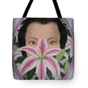 Lily's Eyes Tote Bag