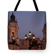 Lima Cathedral Twin Towers One Tote Bag