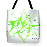 Lime Green Study Tote Bag