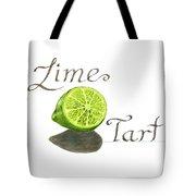 Lime Tart Tote Bag