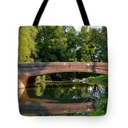 Lime Valley Bridge Tote Bag