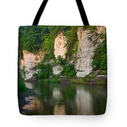 Limestone Bluffs Along Upper Iowa Tote Bag