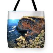 Limestone Cliff Tote Bag