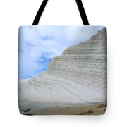 Limestone Cliffs Tote Bag