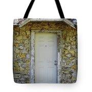 Limestone House Door Tote Bag