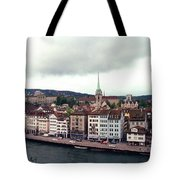 Limmatquai In Zurich Switzerland Tote Bag