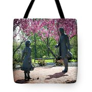 Lincoln-bedell Statue Westfield  Tote Bag