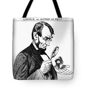 Lincoln Cartoon, 1873 Tote Bag
