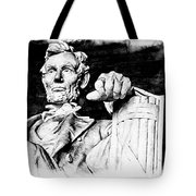 Lincoln Carved Tote Bag