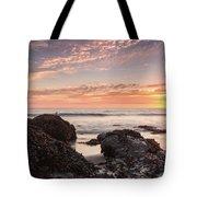 Lincoln City Beach Sunset - Oregon Coast Tote Bag