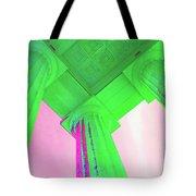 Lincoln Column Green Tote Bag