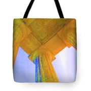 Lincoln Column Yellow Tote Bag