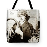 Lincoln J. Beachey March 3, 1887 March 14, 1915 Tote Bag