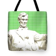 Lincoln Memorial - Green Tote Bag