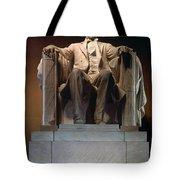 Lincoln Memorial: Statue Tote Bag by Granger