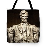 Lincoln Monument Tote Bag