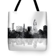 Lincoln Nebraska  Skyline Tote Bag