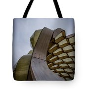 Abstract Of Peoples Gas Pavillon Tote Bag