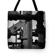 Lincoln Park Conservatory Water Works Tote Bag