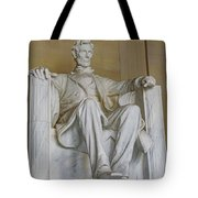 Lincoln Statue Tote Bag