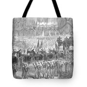Lincolns Funeral, 1865 Tote Bag