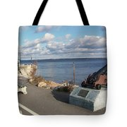 Lincolville Bench Tote Bag