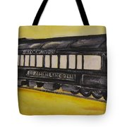 Lincons Funeral Car Tote Bag