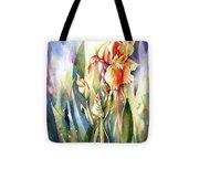 Linda's Iris Tote Bag