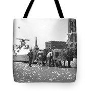 Lindbergh Parade, 1927 Tote Bag