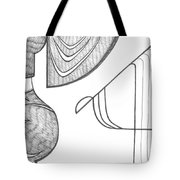 Line And Tone Tote Bag