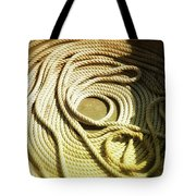 Line Coil Tote Bag