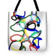 Line Design Creative Tote Bag