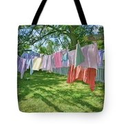 Line Dry - Laundry Tote Bag